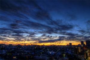 זריחה בטוקיו